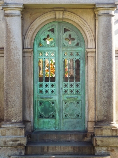 Mausoleum Doors: David Hewes vault