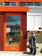 Orange Garden Door-Longfellow