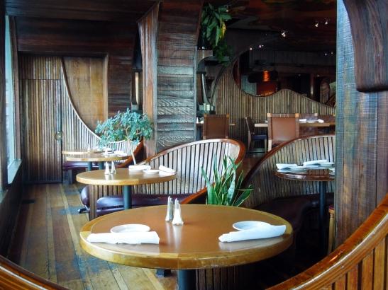 Trident, Sausalito-interior