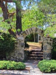 North Berkeley-Stone arch with keystone-728