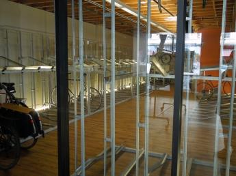 Uptown Bike Station Interior-Saturday