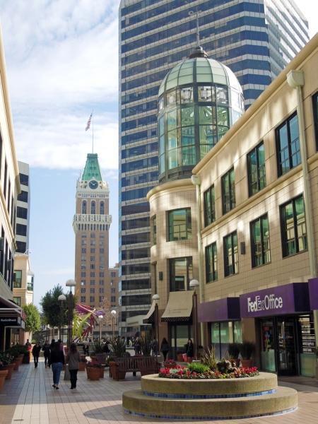 City Center with Tribune Bldg