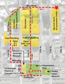 City Center Walk Map